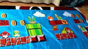 Mario Bedroom Decor Super Mario Bros Diy Home Decor Youtube