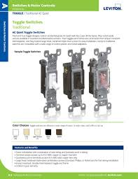 Leviton Device Color Chart L 300 Switches Motor Controls 2015 By Leviton Manufacturing