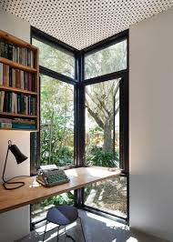 office design magazine. Home Office Design Magazine Fresh Contemporary House With A Desk By The Corner Window