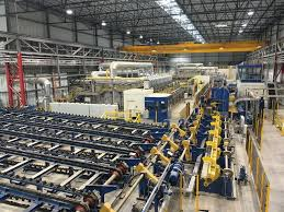 tube office. Germany-based SMS Group Has Supplied Heat-treating Equipment And A Pipe Threading Line Tube Office