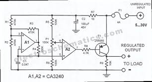 dc voltage regulator circuit dc wiring diagram dc regulator circuit schematic