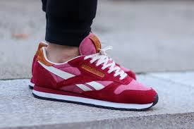in addition to its recent red suede variant the reebok classic leather is rendered in another vibrant palette to suit the warm season ahead
