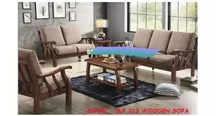 sofa set wooden furniture home