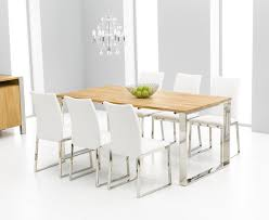 bright design white dining table and chairs 10