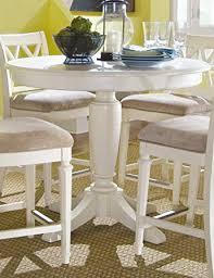 american drew camden round counter height pedestal table in ermilk