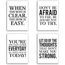 Kavaro 4er Poster Set In Din A4 Motivation Und Inspiration Für