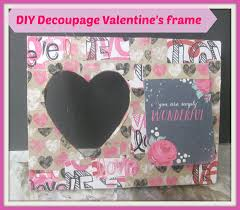 diy decoupage valentine s frame how to decoupage a wooden frame diy valentine s day gift ideas you