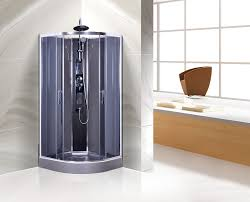 china commercial quadrant shower cubicles curved glass shower enclosures supplier