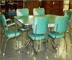 Green Retro Dining Set