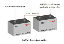 charging 3 batteries with a 2 bank charger? how to connect a 2 bank charger to a 24 volt system at 3 Bank 12 Volt Trolling Motor Battery Charger Diagram