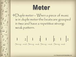 We can have 3 beats in one measure, and 4 in the next. Meter And Time Signatures Ppt Video Online Download