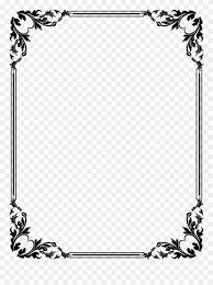 Border Design Download Vector Frame Png Border Design Png Clipart 7762