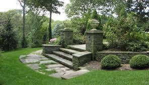walkways and garden