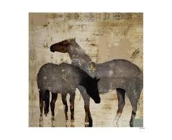 Ballard Designs Horse Art Leftbank Art 52gc2066 Gi Client Ogle Art Artwork