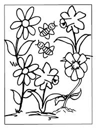 Bijen Kleurplaat Dieren Kleurplaat Animaatjesnl