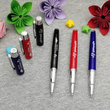 Office Logo Gifts Us 21 49 25 Off Company Logo Gifts Personalized Metal Pen With Company Brand Email Weburl On Pen Cap Or Pen Body 5 Colors To Mix Ship By Dhl In Gel