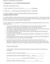 I 751 Cover Letter Mesmerizing Good Faith Marriage Affidavit Letter Sample Heartimpulsarco
