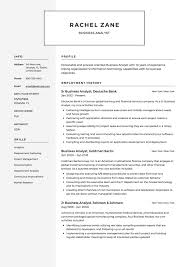Sample Business Analyst Resume 100x Business Analyst Resume Samples Resumeviking 85