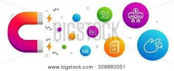 Blood Drive Height Weight Chart Magnet Attracting Vector Photo Free Trial Bigstock