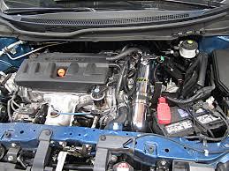 2013 honda civic engine. aem 21-714p cold air intake installed on a 2012, 2013 and 2014 honda civic engine