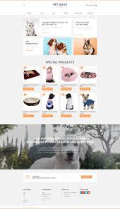 Pet Information Template Pet Shop Responsive Motocms Ecommerce Template