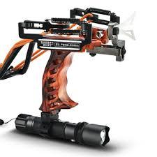 Aluminum High Velocity <b>Slingshots With</b> Laser <b>Hunting Fishing</b> ...