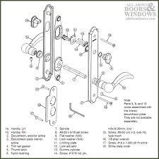 door handle parts. Collection Door Handle Mechanism Parts Pictures Woonv O