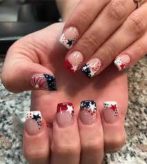 Gel Nail Designs For 4th Of July 25 Nail Art Ideas For The 4th Of July Nails Gel Nail
