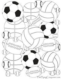 Colouring Pages For Adults And Kids Sports Sport Themed Crafts