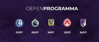 Beerschot oefent tegen Club Brugge en AA Gent