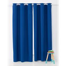 Kmart Kitchen Window Curtains Block Out Eyelet Curtains 1 Pair Navy Kmart