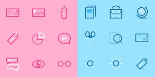 Two Tone Icons A Collection Of Minimal Icons For Subtle Design Work