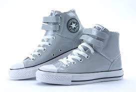 converse shoes high tops. converse shop online - all star gray shiny leather 2 velcro high top shoes, shoes tops t