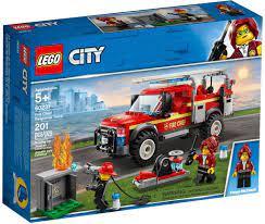 Đồ chơi LEGO City 60231 - Xe Tải Cứu Hỏa (LEGO 60231 Fire Chief Response  Truck)