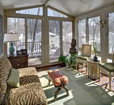 Contemporary Sunroom Furniture Sized Sunroom Designs Sunroom Traditional With White Wood Panel