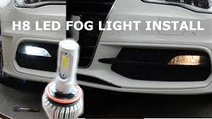 Audi A3 8v Fog Light Bulb Audi A3 8v 2013 Led Fog Light Install