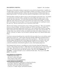 cover letter an example of a descriptive essay an example of a cover letter a descriptive essay example essays on a person sample xan example of a descriptive