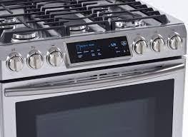 gas range reviews. Modren Range Samsung NX58H9500WS SlideIn Gas Range In Reviews S