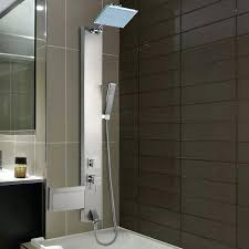 shower panel without tub spout best system reviews panels