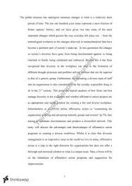 positive duties essay anti discrimination law thinkswap affirmative action essay