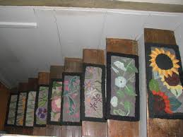 mid century stair treads rugs