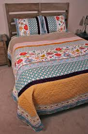 Bohemian Style Cottage Chic Jacobean Floral Patchwork Quilt Set & Patchwork Quilt Set Cottage Chic Bohemian Style Jacobean Geneva Adamdwight.com