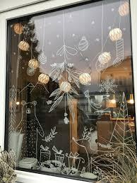 Fenster Weihnachtsdeko Schöne Dekoration Weihnachtsdeko Garten