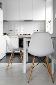 image of retro chrome kitchen chairs