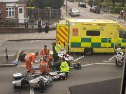 Fast Lane Light And Sound Police Motorcycle Royal Crash Widow Hit By Kate And Wills Police Escort