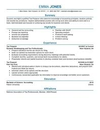 permalink to tax preparer resume sample tax resume sample
