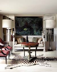 the dos of decorating with zebra skin rug outsourcesol