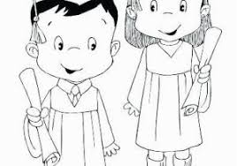 Kindergarten Graduation Coloring Pages Kindergarten Graduation Coloring Page Kindergarten Graduation