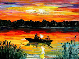 wondrous design ideas landscape paintings by famous artists new 100 hand made home decoration painting oil