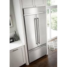 kitchenaid kn502epa 42 french door panel ready refrigerator with